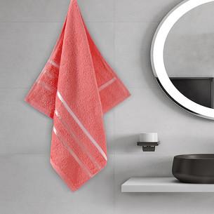 Полотенце для ванной Karna CLASSIC хлопковая махра коралловый 50х80