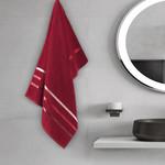 Полотенце для ванной Karna CLASSIC хлопковая махра красный 50х80, фото, фотография