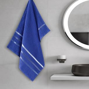 Полотенце для ванной Karna CLASSIC хлопковая махра королевский синий 50х80