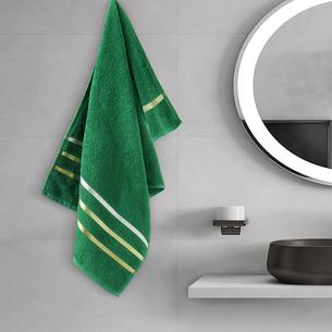 Полотенце для ванной Karna CLASSIC хлопковая махра темно-зеленый 50х80