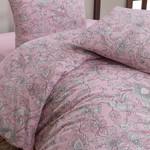 Постельное белье Karna ROSINA хлопковая бязь розовый 2-х спальный (нав. 70х70), фото, фотография