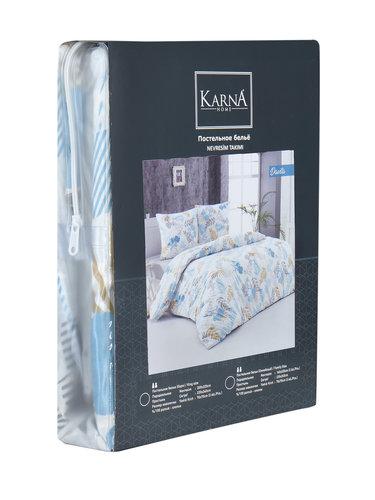 Постельное белье Karna DAVITA хлопковая бязь семейный (нав. 70х70), фото, фотография