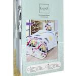 Постельное белье Karna подростковое SANDY хлопковая бязь 2-х спальный (нав. 50х70), фото, фотография
