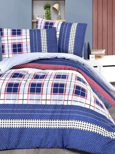 Постельное белье Karna подростковое JEANS хлопковая бязь 1,5 спальный (нав. 50х70), фото, фотография