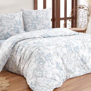 Постельное белье Karna BELLA хлопковая бязь 2-х спальный (нав. 70х70)