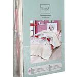 Постельное белье Karna подростковое KUKI хлопковая бязь 1,5 спальный (нав. 50х70), фото, фотография