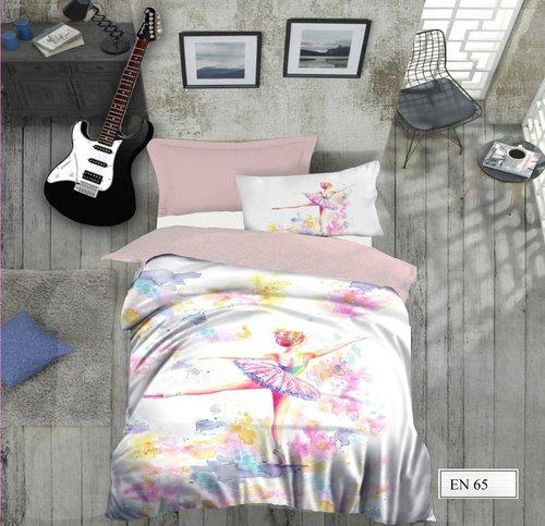 Комплект подросткового постельного белья EFOR GENC BALET хлопковый ранфорс 1,5 спальный, фото, фотография