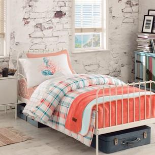 Детское постельное белье Istanbul Home Collection GENC RANFORCE SIENA MERCAN хлопковый ранфорс 1,5 спальный