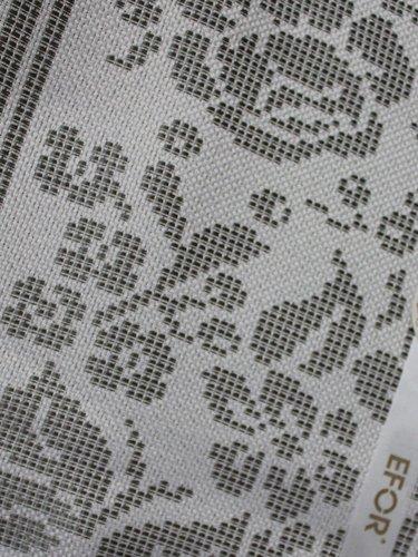 Скатерть прямоугольная Efor CANVAS жаккард серебрянный 160х220, фото, фотография