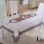 Скатерть прямоугольная Efor Lace гобелен 160х300, фото, фотография