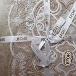 Скатерть прямоугольная Efor SEVVAL жаккард капучино 160х220, фото, фотография