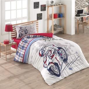 Комплект подросткового постельного белья Kristal Home STORM хлопковый ранфорс 1,5 спальный