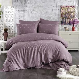 Постельное белье Grazie Home LOVEN'S хлопковый сатин делюкс фиолетовый евро