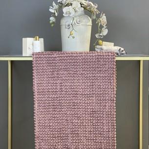 Коврик для ванной Tivolyo Home BUBBLES хлопковая махра фиолетовый 70х120