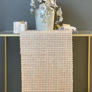 Набор ковриков для ванной Tivolyo home BUBBLES бежевый 50х60, 60х100