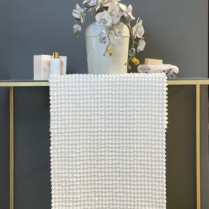 Набор ковриков для ванной Tivolyo home BUBBLES кремовый 50х60, 60х100