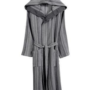 Халат женский Buldan's ADEL MINI хлопок серый L/XL