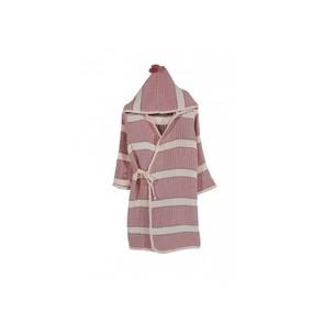 Халат детский Buldans QUATRO хлопок розовый+серый 5-6 года