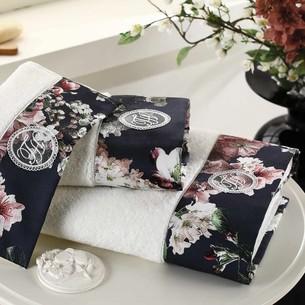 Подарочный набор полотенец-салфеток 30х50(3) Tivolyo Home LAVINIA хлопковая махра кремовый