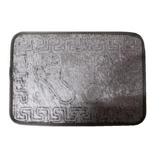 Коврик Dorean велюр серый 40х60