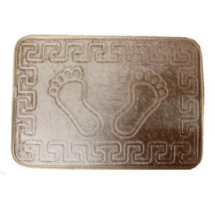 Коврик Dorean велюр золотой песок 40х60