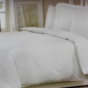 Постельное белье Ozdilek SATEN NEVRESIM хлопковый сатин кремовый 1,5 спальный