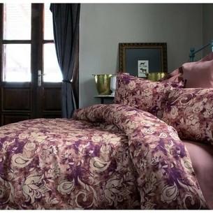 Постельное белье Issimo Home AMARANTE тенсель бордовый евро