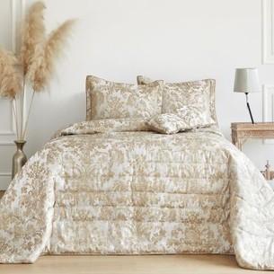 Покрывало Soft Cotton ADRIA жаккард кремовый 260х270