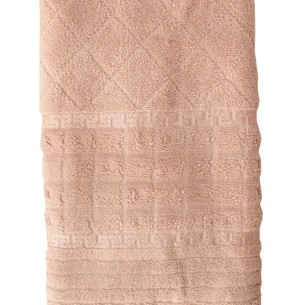 Полотенце для ванной Efor GEOMETRI хлопковая махра бежевый 50х90