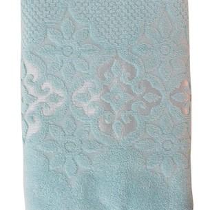 Полотенце для ванной Efor NILUFER хлопковая махра зеленый 50х90