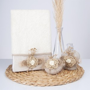 Подарочный набор с полотенцем Nazik Home FULYA