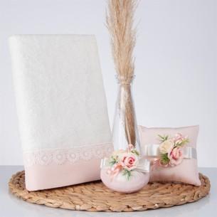 Подарочный набор с полотенцем Nazik Home ESTA