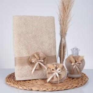 Подарочный набор с полотенцем Nazik Home CARAMEL
