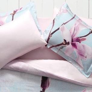 Набор наволочек 2 шт. Tivolyo Home ORCHIDEA хлопковый сатин делюкс розовый 70х70