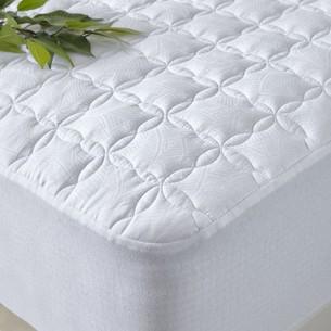 Наматрасник Soft Cotton тенсель белый 160х200