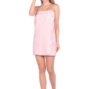 Набор для сауны женский Maison Dor BELLA махра хлопок грязно-розовый