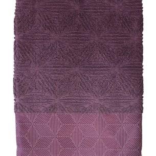 Полотенце для ванной Efor SEDIR хлопковая махра лиловый 50х90