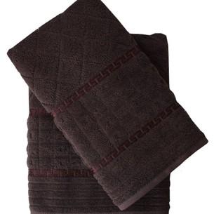 Набор полотенец для ванной 50х90, 70х140 Efor GEOMETRI хлопковая махра серый