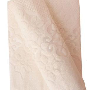 Набор полотенец для ванной 50х90, 70х140 Efor NILUFER хлопковая махра кремовый