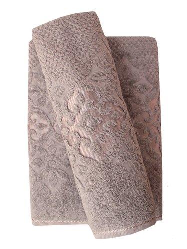 Набор полотенец для ванной 50х90, 70х140 Efor NILUFER хлопковая махра серый, фото, фотография
