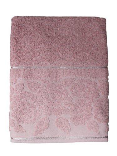 Полотенце для ванной Efor ROSE хлопковая махра пудра 50х90, фото, фотография
