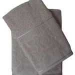 Набор полотенец для ванной 50х90, 70х140 Efor ROSE хлопковая махра светло-бежевый, фото, фотография
