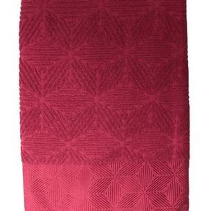 Набор полотенец для ванной 50х90, 70х140 Efor SEDIR хлопковая махра бордовый