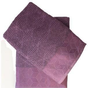 Набор полотенец для ванной 50х90, 70х140 Efor SEDIR хлопковая махра лиловый