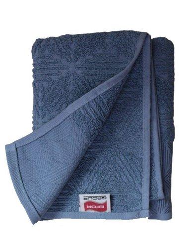 Набор полотенец для ванной 50х90, 70х140 Efor SEDIR хлопковая махра синий, фото, фотография