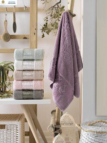 Набор полотенец для ванной 6 шт. Philippus SEVAKIN хлопковая махра 50х90, фото, фотография