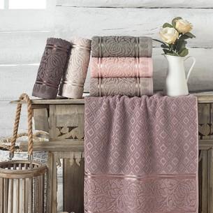 Набор полотенец для ванной 6 шт. Philippus MOTTYA хлопковая махра 70х140