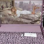 Постельное белье Maison Dor ESPERANZA хлопковый сатин фиолетовый евро, фото, фотография