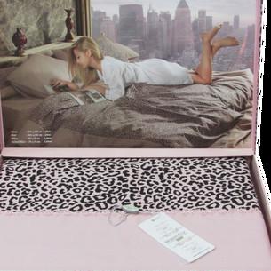 Постельное белье Maison Dor ESPERANZA хлопковый сатин грязно-розовый евро