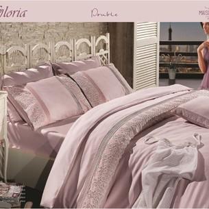 Постельное белье Maison Dor GLORIA хлопковый сатин фиолетовый евро